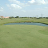 A view from a tee at Tierra Santa Golf Club