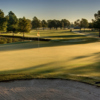 A view of the 3rd green at Golfcrest Country Club