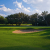 A view of a hole at Hill Country Golf Club