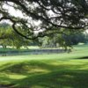 A view of a green at Hill Country Golf Club