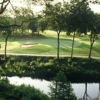 A view over the water from Onion Creek Club