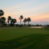 A view of the practice area at South Padre Island Golf Club