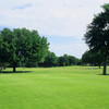 A view of the practice putting green at Meadowbrook Park Golf Course
