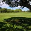 A view of a green at John C. Beasley Municipal Golf Course.