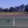 A view from the tennis court at Delta Country Club.