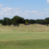 A view of a hole at Oak Trail Golf Course.
