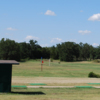 A view of the driving range at Oak Trail Golf Course.