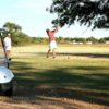 A view of a tee at Country Club of Dimmitt.