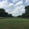 A view of a green at Hallettsville Golf Course.