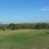 A view of a green at Karnes County Country Club.