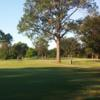 A view of a tee at Mineola Country Club.