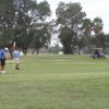 A view of a green at Shary Municipal Golf Course.