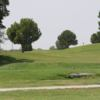 A view of hole #12 at Ward County Golf Course.