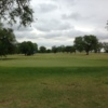 A view of a green at Olton Country Club.