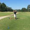 A view of a tee at Overton Golf Course (Justin Lake).