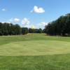 A view of a hole at Pine Ridge Golf Course.