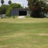 A view of green #9 at Raymondville Golf Course.