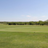 A sunny day view of a hole at Roaring Springs Ranch Club.