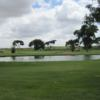 A view over the water from Gaines County Golf Course.