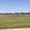 A view of the putting green at River Crossing Golf Club