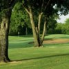 A view of a hole at Denton Country Club.