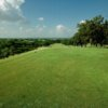 A view from a tee at Denton Country Club.