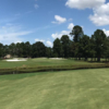 A view of the 9th hole at King from Palmer at Woodlands Country Club.