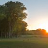 An evening view of tee #5 at Southern Oaks Golf Club.