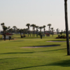 A view of the 16th hole at Galveston Country Club.