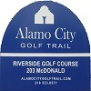 Eighteen at Riverside Municipal Golf Course - Public Logo
