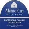 Eighteen at Riverside Municipal Golf Course - Public Logo