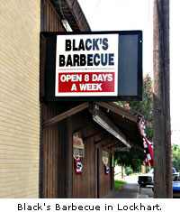 Black's Barbecue at Lockhart Golf Club