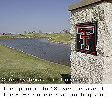 Lake At Rawls Golf Course