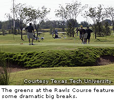 Greens At Rawls Golf Course