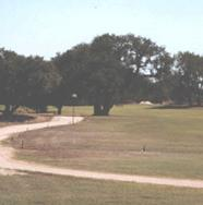 Delaware Springs Golf Course - The par-4 No. 17 of 310 yards known as 'The Last Temptation.'