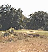 Delaware Springs Golf Course  - A challenging par 3 of 202 yards - No. 16.