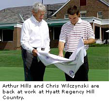 Arthur Hills and Chris