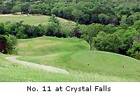 Crystal Falls Golf Course - Hole No. 11