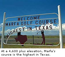 Marfa Texas on Marfa  Texas  Elev  4 688  Pop  2 078