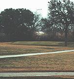 Hancock Park Municipal Golf Course - The par 5, 505-yard No. 9